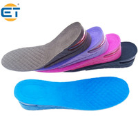 5 Pair Wholesale New Charming Stylish Shoe Insole 2 Layer Air Cushion Heel Increase 4.5cm Taller Height