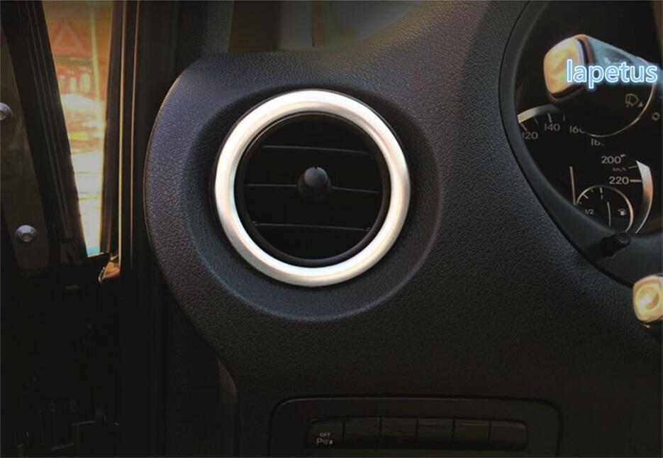 Car Styling Smoke Window Sun Rain Visor Deflector Guard for Mercedes Benz C180 200 220 260 300 2015-2017 NOT in Channel rain Guards 4-Piece Set