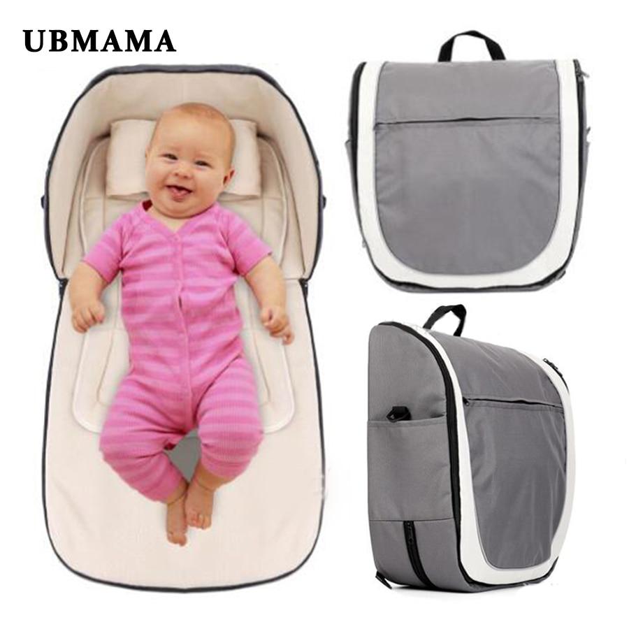 Купить с кэшбэком Panda pattern fashion Ultra-easy baby bed folding bed thickening baby cradle folding portable crib baby travel bed