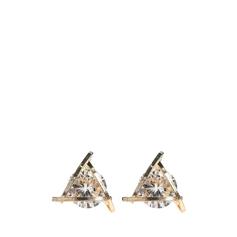 Stud Earrings MODIS M182A00058 for female for woman TmallFS luo linglong original s925 sterling silver earrings female song type triangle earrings earrings earrings temperament high end gift