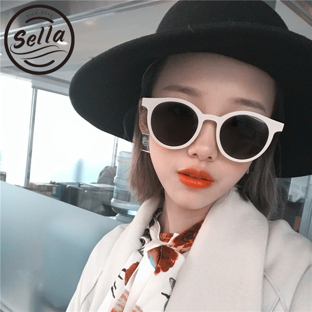6cefa54a6c Sella New Trending Round Retro Fashion Women Sunglasses Colorful Frame  Unique Summer Sun Glasses UV400