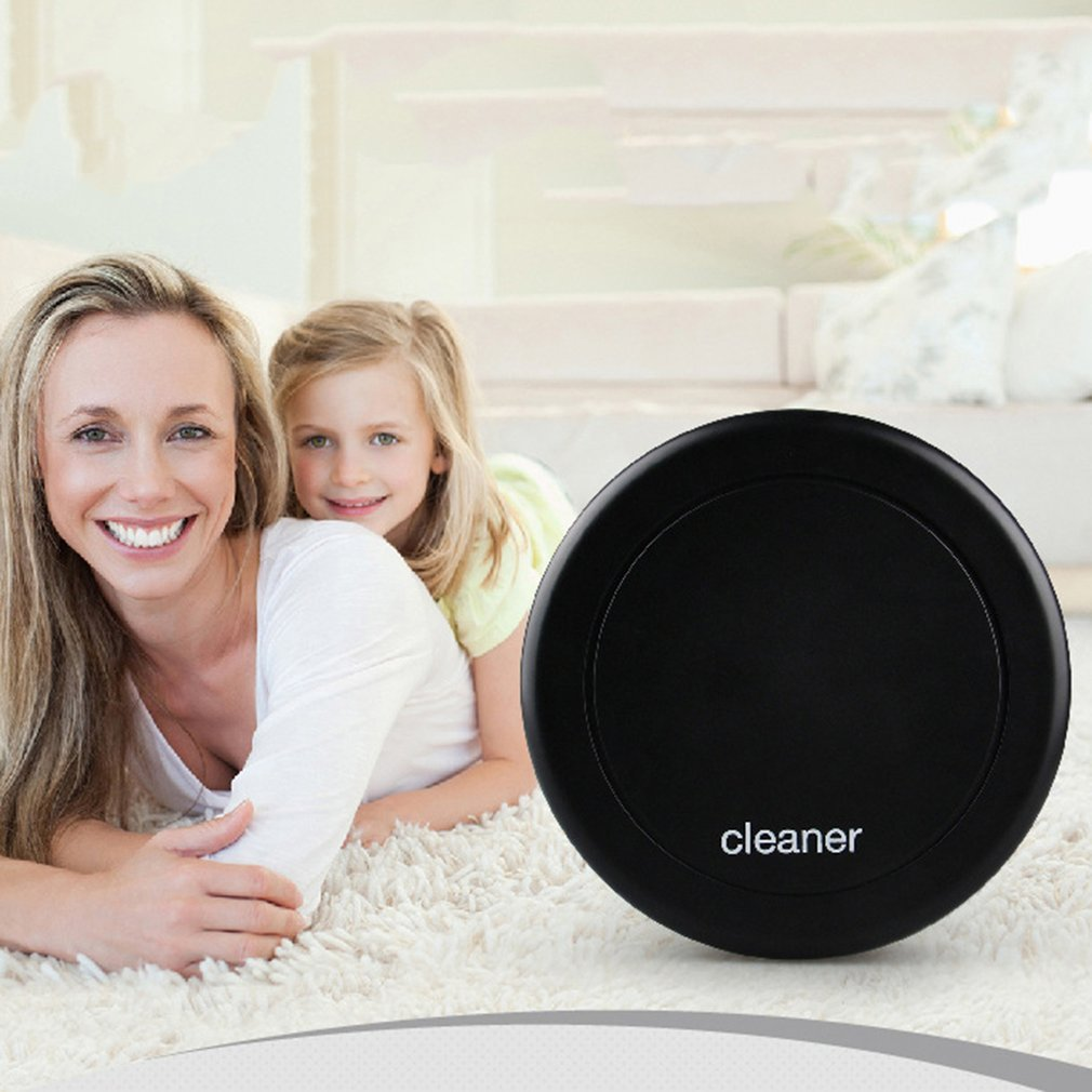 Rechargeable Clean Robot Automatic Auto Cleaner Vacuum Floor Steering Cleaning Intelligent Smart Dust Dirt Sweeping Noiseless