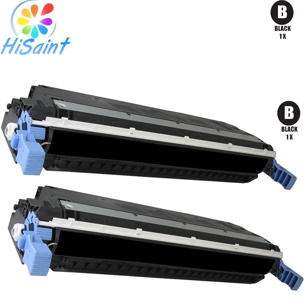Remanufactured Ersatz Für HP 503A Toner Cartridge Set (2 Schwarz) Q6470A Für...