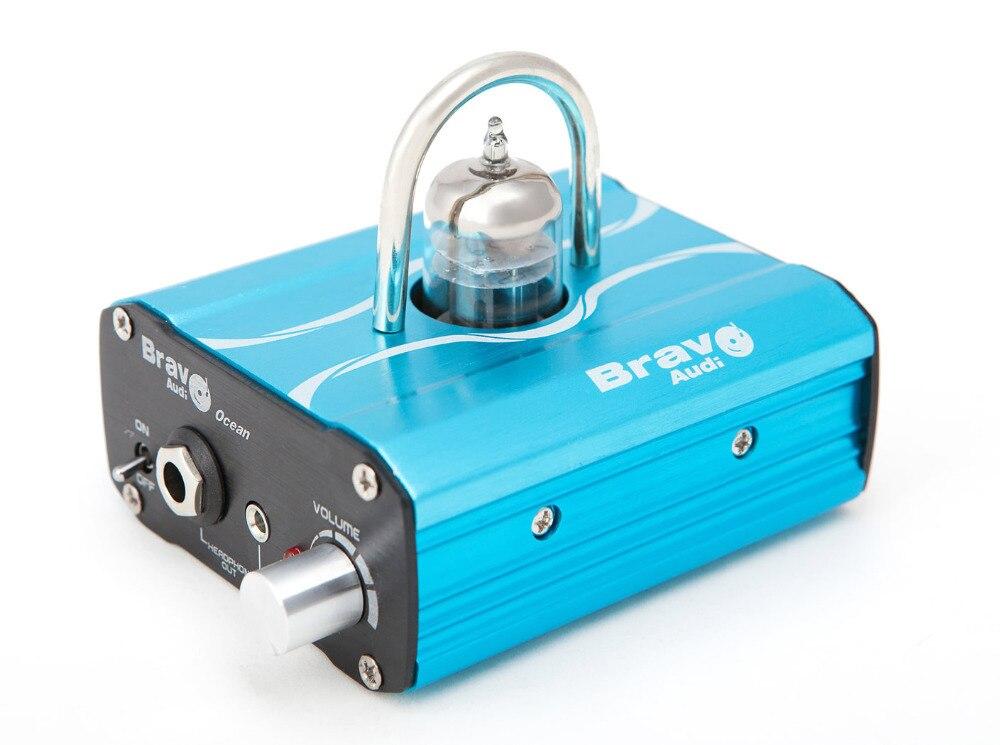 Bravo Audio Ocean Headphone Amplifier Mini Valve Class A 12AU7 Tube DC24V