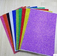 Free Shipping 10pcs Bag 2mm Thickness Craft Punches Child Sticker Single Sided Adhesive Glitter Eva Foam