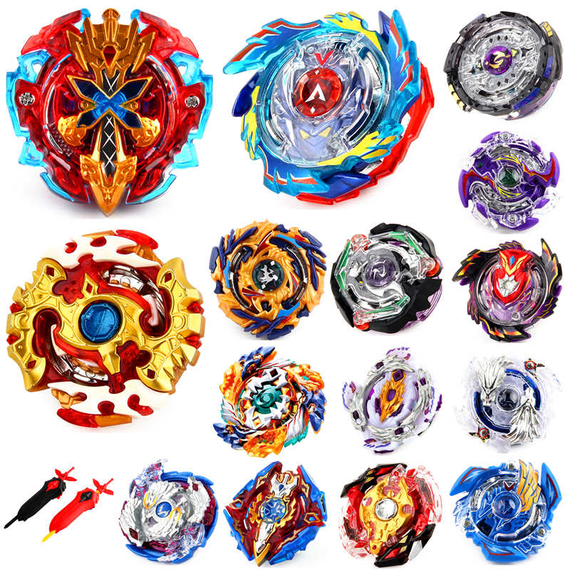 Top Launchers Beyblade Burst Toys B-34 B-79 B-48 bables Toupie Bayblade burst Metal God Spinning Tops Bey Blade Blades Toy