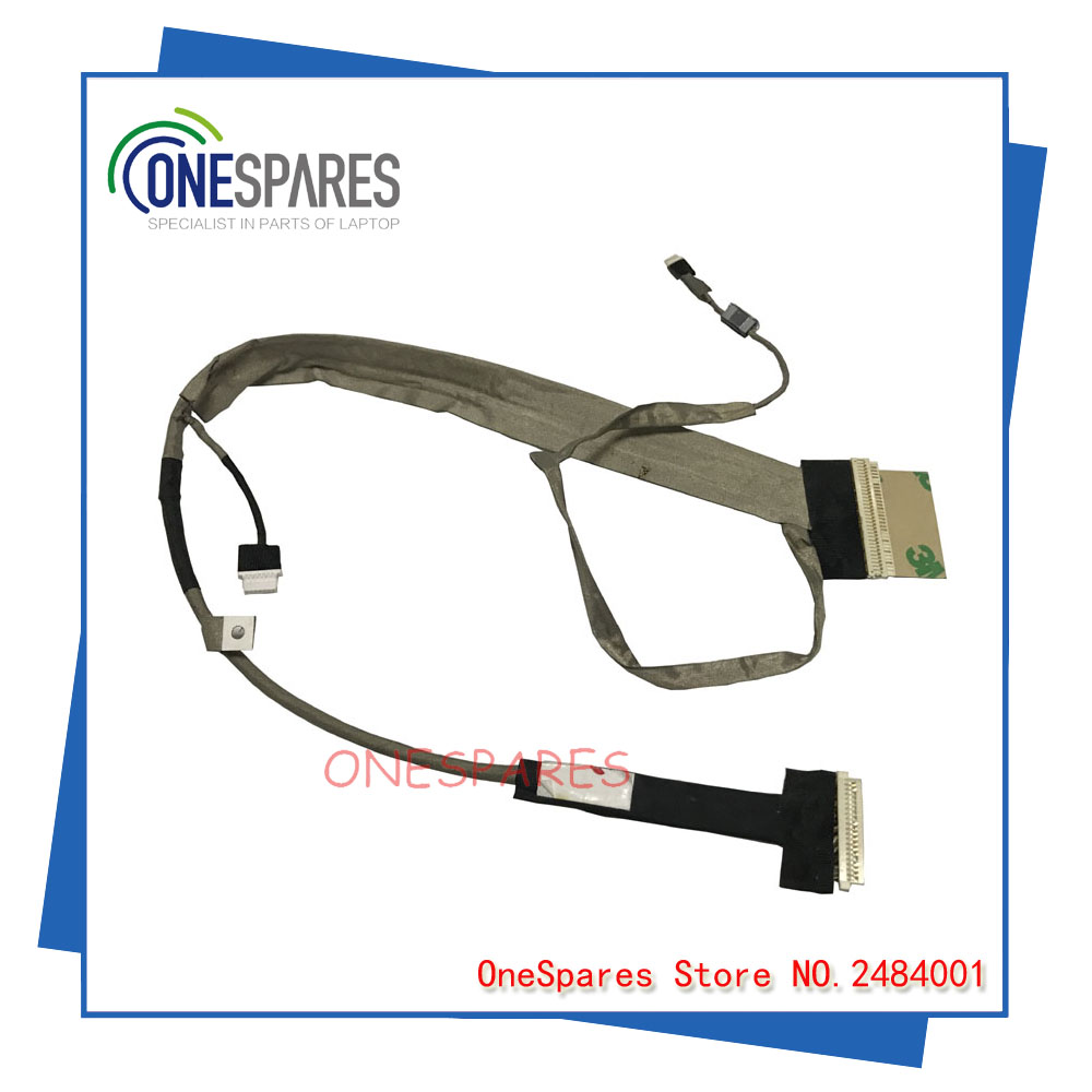 New and original LVDS LCD Cable for Toshiba L500 L500D L505 L505D laptop Cable L500 L505 LCD LVDS CABLE DC02000XW00