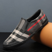 2019 new canvas shoes men's youth shoes spring and autumn breathable tide men's lazy shoes casual shoes cloth shoes men's shoes