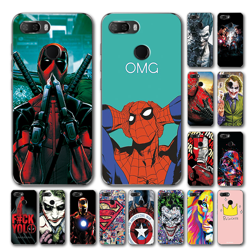 YOUVEI Phone Case For Lenovo K5 Play L38011 ZUI 3.7 4G Novelty Marvel Avengers Silicone Mobile Case Cover For Lenovo K5 Play 5.7
