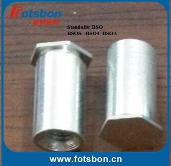 BSOS-832-14 Blind Hole Standoffs,Stainless steel, nature, in stock, PEM standard ,made in china