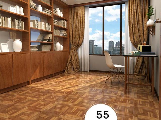 3d piastrelle pavimento in cuoio pavimento autoadesiva carta per