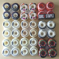 ELEMENT SKATEBOARD WHEELS 4pcs Set Pro 52mm Stock Wheels For Special Offer With Good Price COLOR