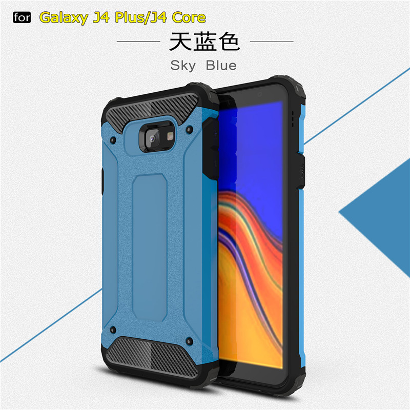 For Samsung Galaxy J4 Plus Case Silicone Shockproof Anti knock Phone Case For Samsung Galaxy J4 Prime Case For Samsung J4 Prime in Fitted Cases from Cellphones Telecommunications
