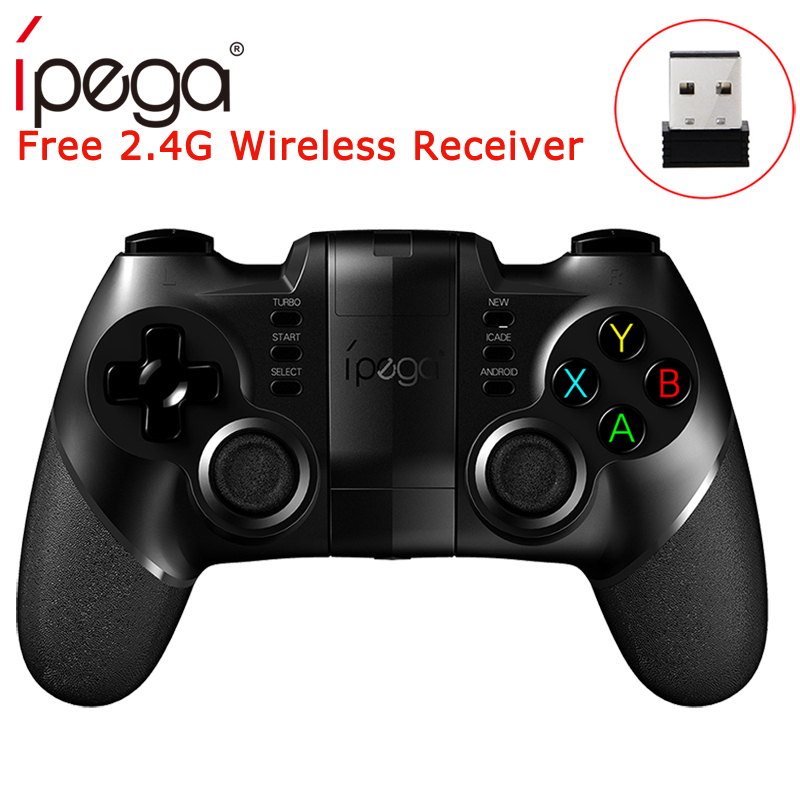 Ipega PG-9076 PG 9076 Gamepad Bluetooth Game Controller 2.4G Wireless Receiver Joystick Android Game Console Player switch pubgIpega PG-9076 PG 9076 Gamepad Bluetooth Game Controller 2.4G Wireless Receiver Joystick Android Game Console Player switch pubg