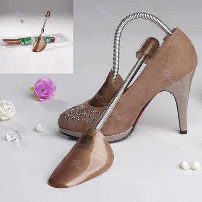 1 Paar Hohe Elasticit Frauen Schuhe Kunststoff Fest Passend Unterstützung Keil Shaper Frühling Schuh Bäume Ungleiche Leistung