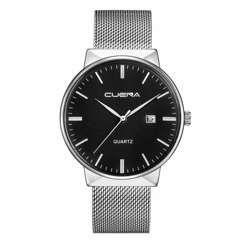 Montre Homme, модные мужские часы, водонепроницаемые наручные часы, мужские новые кварцевые часы, ультра тонкий циферблат, часы для мужчин, Relogio Masculino