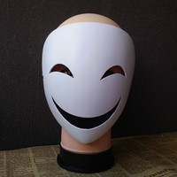 Pvc White Mask Party Toys Unique Full Face Dance Costume Mask For Men Women For Gift New Party Mask Cosplay Halloween Festival