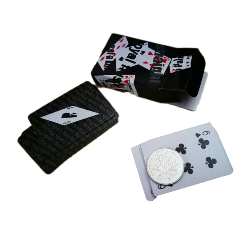 Playing Poker CardsPortable Mini Small Poker Interesting Playing Card Board Game Outside Outdoor or Travel Mini Size Poker