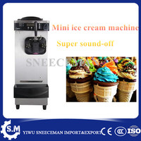 commercial table top mini soft ice cream vending machine Ice Cream Maker32 36L/H on hot sale soft ice cream machine