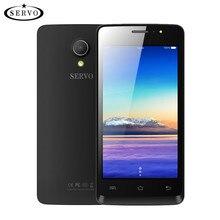Оригинальный телефон Servo W680 4.5 дюймов MTK6580M 4 ядра 1.3 ГГц Android 7.0 телефона Встроенная память 4 ГБ Камера 5.0MP GPS WCDMA мобильные телефоны