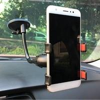 100pcs For Huawei sucker car phone bracket 360 degree rotation double chuck general navigation mobile phone seat sucker