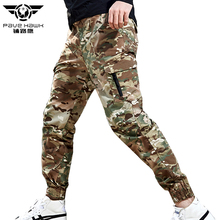 Mens Joggers Sweatpants Skinny Tactical Cargo Pants Men Camo Military Pants Man Casual Trousers Camouflage Women Jogger Pants