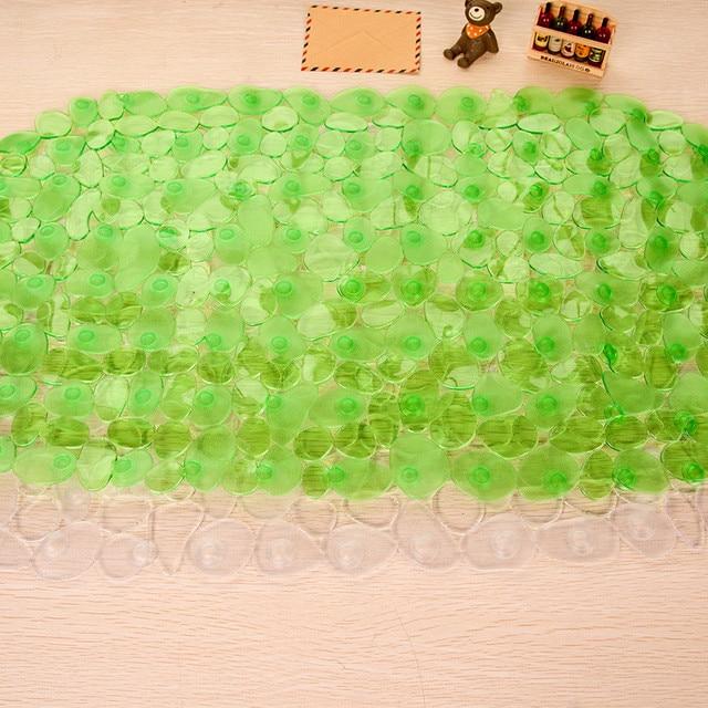 Cobblestone Antiscivolo Tappetino Da Bagno con Ventosa IN PVC Impermeabile Multi