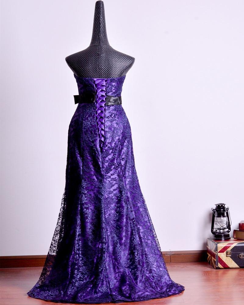 Hermosa Vestido De Novia Negro Sirena Ornamento - Vestido de Novia ...