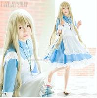 Kagero Project Sakura Jasmine Cosplay Costume Kozakura Mari Dress Alice In Wonderland Costume Anime Cosplay Halloween