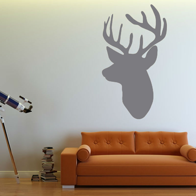 Popular Deer Wall DecalsBuy Cheap Deer Wall Decals Lots From - Vinyl wall decals animals