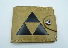 Animado billetera la leyenda de Zelda cosplay cartera de la lona cero cartera Men & women regalo D estilo