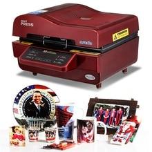 3D сублимационная вакуумная машина, сублимационная/термопресс машина, кружка/футболка/чехол для сотового телефона принтер, чашка/цифровая печатная машина