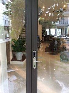 Image 5 - Electronic Door Lock, WiFi App Smart Bluetooth Digital APP Keypad Code Keyless Door Lock,Password Keyless Door Home Lock
