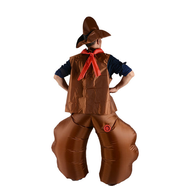 Purim Carnival Halloween Costume for Women Dinosaur Cowboy Inflatable Costumes Funny Party Dress Animal Cosply Costume Adult Kid  sc 1 st  Aliexpress & Online Shop 2018 Halloween Inflatable Cowboy Costume For Adult Men ...