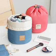 2 Colors organizer bag Travel bulk Drawstring Cosmetic multi functional storage in Handbag Storage box New HHY