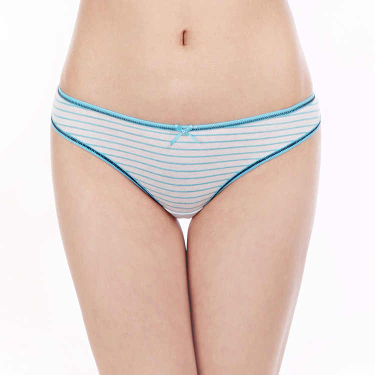 ชุดชั้นในสตรีแฟชั่นลายพิมพ์ผ้าฝ้ายผู้หญิงเซ็กซี่ G - String Thong กางเกงสาว M L XL ชุดชั้นในสตรี
