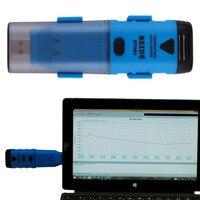Universal Temperature Measuring Instruments BTH04 Digital USB Temperature Data Logger Reading Recorder 1Data Logger 1CD 2
