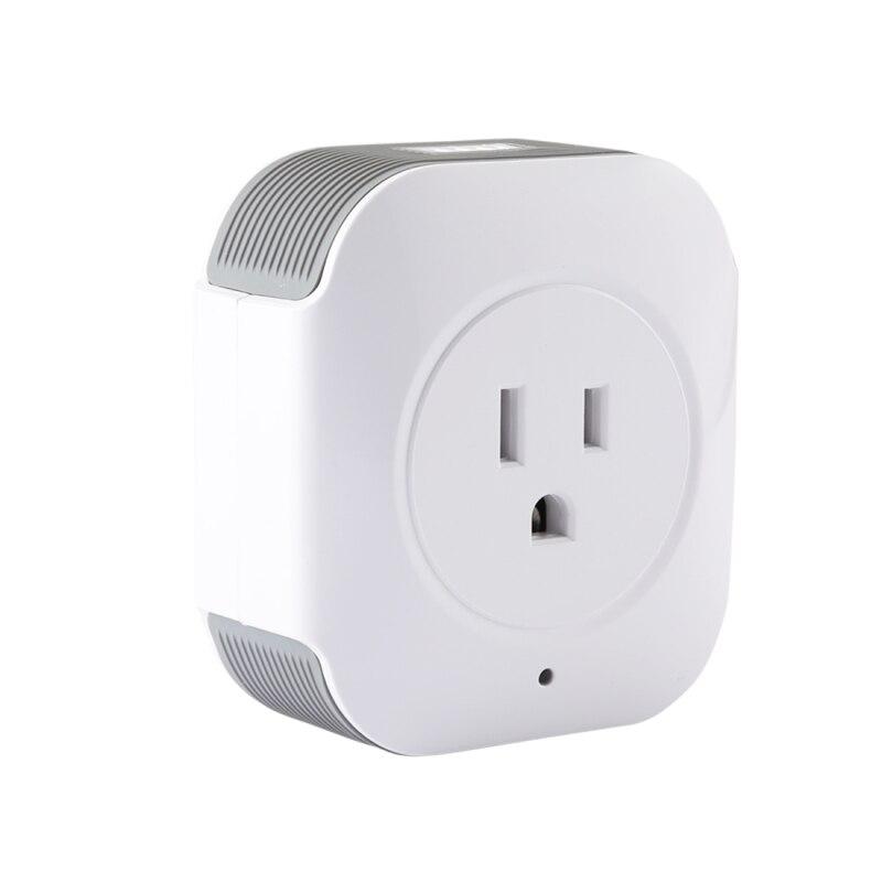 Haweel Беспроводной Smart Мощность Розетка WiFi Дистанционное управление таймер Мощность коммутатор с Alexa и Google дома для IOS устройств Android ...