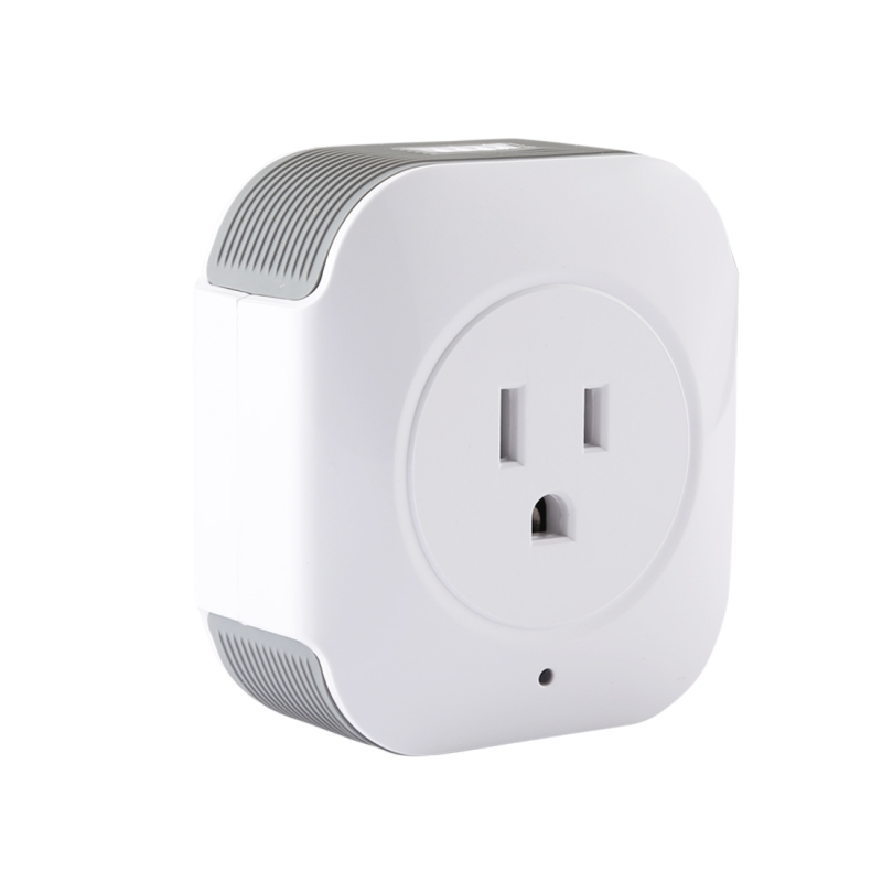 Haweel Wireless Smart Power Plug Socket WiFi Remote Control Timer Power Switch with Alexa and Google Home For IOS Android Device ...