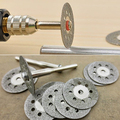 Rotary Tool Circular Saw Blades Cutting Wheel Discs Mandrel For Cutoff  Christmas  Gift  6LEZ