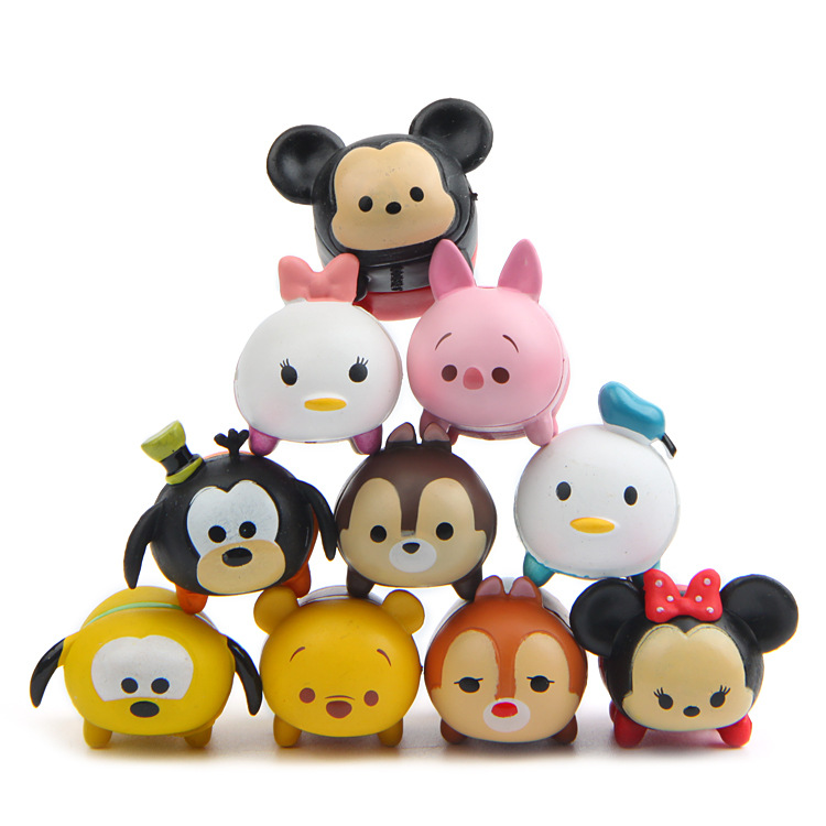 hot 10 styles figures tsum