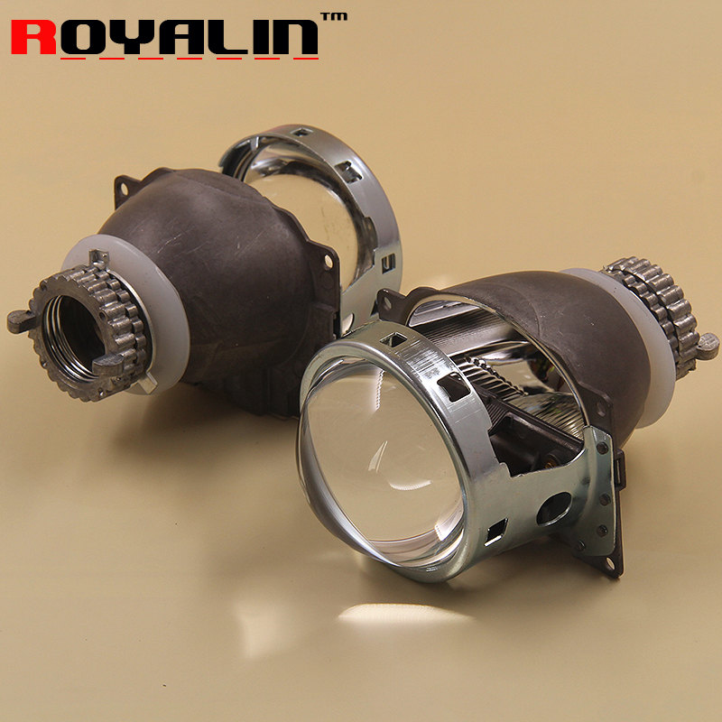 3 0 inch H4 Car External font b Lights b font Lenses for D2S D2H Lamps