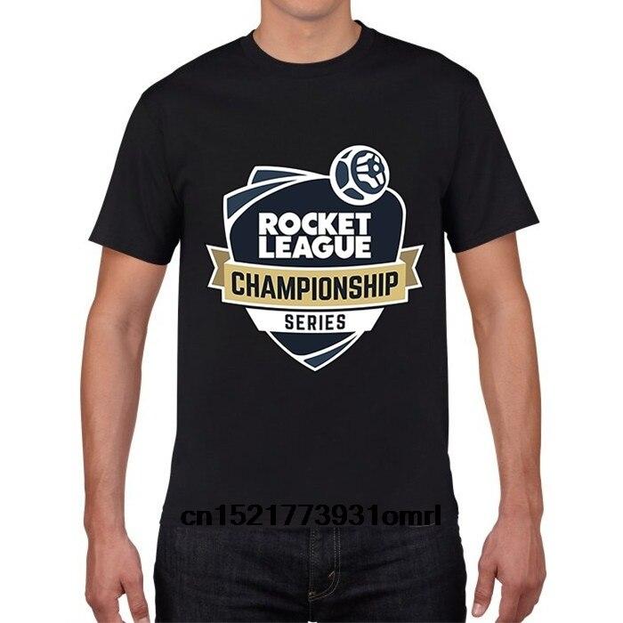f3639af3 Men T shirt Designer T Shirt Rocket League Organnic Cotton funny t-shirt  novelty tshirt