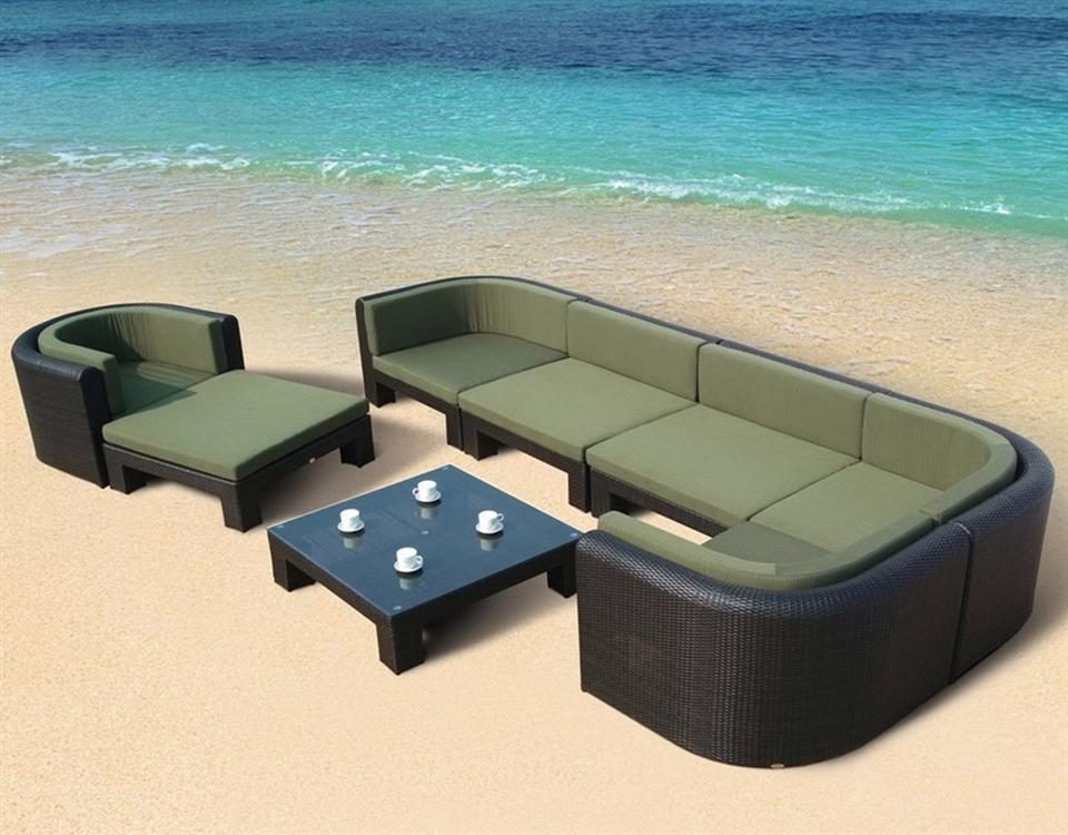 Us 8990 2017 Hot Sale Spring Arrival Cheap Led Rattan Outdoor Round Lounge Furniture In Garden Sofas From Furniture On Aliexpress