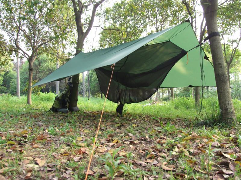 Actual photo of the Sun Shelter Beach Waterproof Tarpaulin Tent