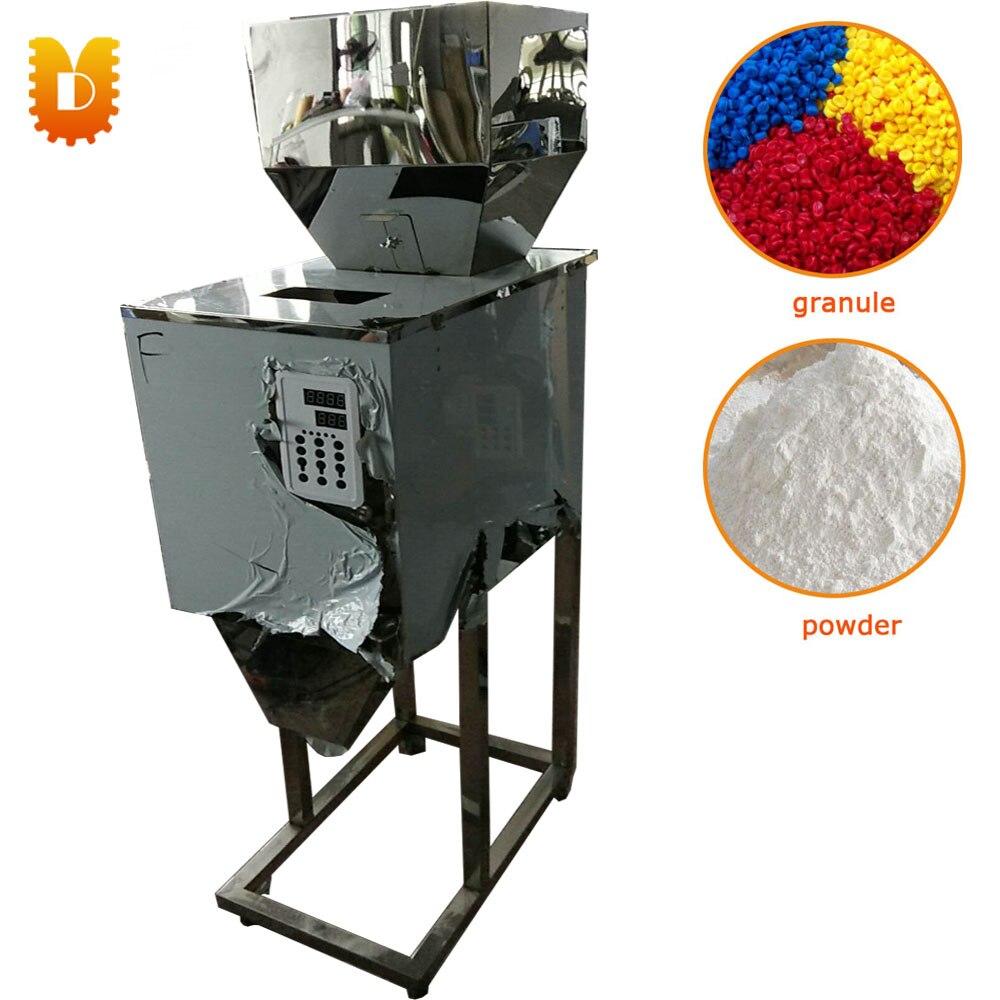 10-5000g automatique de fourrage de Grain chat, chien, nourriture de poisson pesant et remplissant la machine/particule, peseuse de poudre et remplisseur