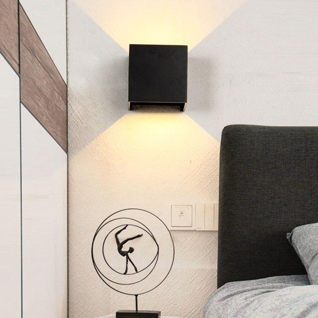 LED Outdoor Wall Sconce Porch Up Down Light Fixtures Waterproof Lamp Exterior Lighting Indoor Modern For Bedroom Garden Home 1