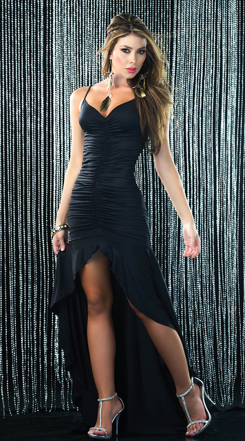 Sleeveless Backless Deep V Neck strap long gown party dress draped clubwear  vintage dance dress for women s plus 3XL Size 599b8fa6e73f