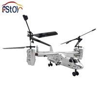RC Helicopter US Airforce Aerei da trasporto Osprey V22 2.4G 4 Canale di Controllo Remoto Modello di Aereo RTF Elettronico Giocattolo di Hobby