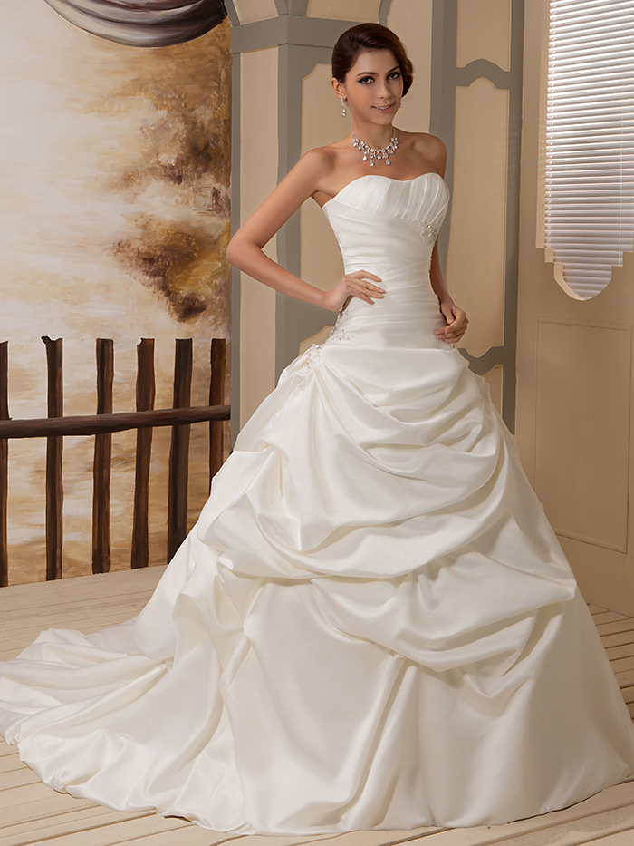 Gown Wedding Dresses Ivory Ball